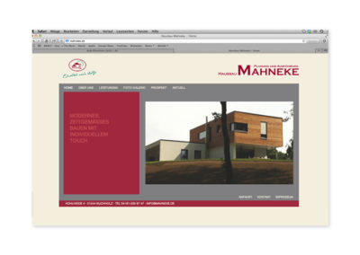 Mahneke-website